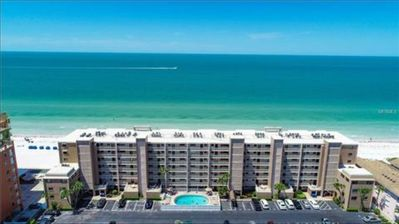 Photo for Residential / Secluded Beachfront Condo with Pool! On the Gulf of Mexico
