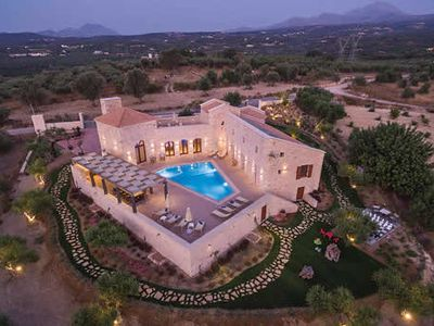 Photo for Luxury villa w/ private pool/kids pool, giant chess and outdoor dining