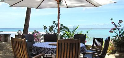 Photo for Villa Seascape  -  Beach Front - Located in  Exquisite Gibbs Beach with Private Chef Services