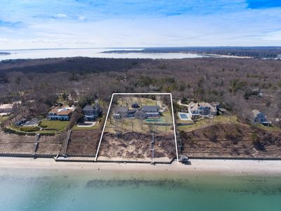 Photo for Spectacular Bay Front Sprawling Nassau Point Home