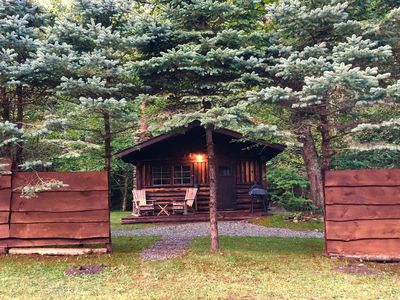Photo for Cabin 1 - Rustic Retreat -