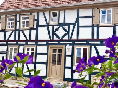 Photo for 5 * Romantic, historic half-timbered house from 1623 - stove & infrared sauna