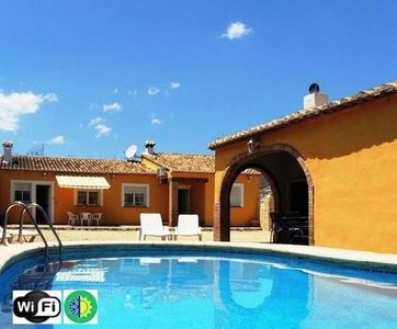 Photo for Charming Villa in Jalon. Private pool. Wifi Costa Blanca