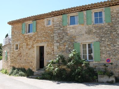 Photo for Village house with views of Mont Ventoux