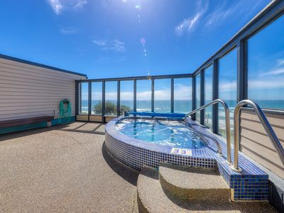 Photo for Magnificent & dog-friendly room w/shared indoor pool & ocean views!