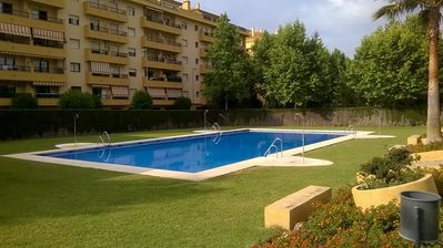 Photo for Central / spacious apartment in Marbella for families