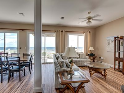 Photo for BEACH FRONT WITH POOL & ELEVATOR--GREAT FOR DESTINATION WEDDINGS!