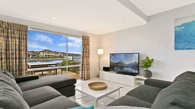 Photo for SALT Waterfront Apartment - marina and sea views, watch the boats go by...