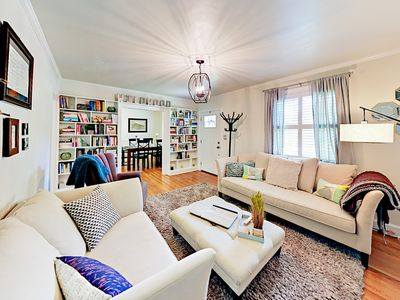 Living Room - Welcome to Nashville! Your Belmont/Hillsboro neighborhood home is professionally managed by TurnKey Vacation Rentals.