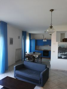 Photo for Large Apartment with Three Rooms, Sea, Countryside, Hills