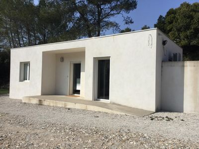 Photo for Nice contemporary style mazet located in the heart of nature,