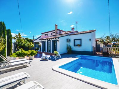 Photo for Luxury Villa with private pool, Wifi, 200 meters from the sea in Dénia