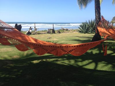 Photo for Beautiful Beachfront property in San Miguel, Guanacaste, sleeps 12