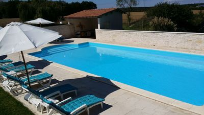 Photo for Estate with 6 individual cottages (36 beds), reception room and swimming pool.