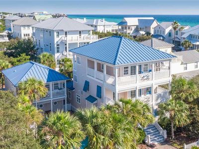 Photo for Just Beachy - Gulf View, Heated Private Pool, Old Florida Beach Neighborhood!