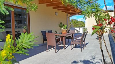 Photo for Holiday apartment with terrace and parking