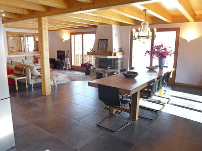 Photo for House 777 m from the center of Crans-Montana with Parking, Internet, Washing machine, Balcony (46213)