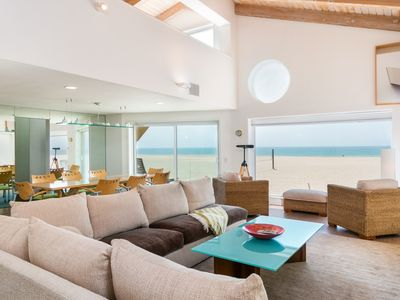 Photo for Upscale Beachfront Home with Channel Island Views from 3 Breezy Decks