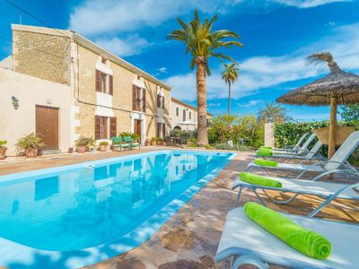 Photo for CAN SALVADOR - Villa with private pool in Moscari.
