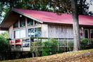 Crappie House wrap-around porch and deck