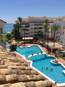 Photo for MARBELLA - BEAUTIFUL APARTMENT / DUPLEX DIRECT ACCESS TO THE BEACH