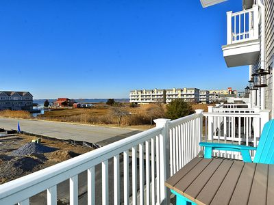 Photo for Brand New! 4- Br Bayside Townhome With Water View, 2 Blocks To Beach, Free WiFi