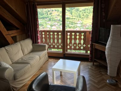 Photo for Beautiful semi-detached chalet with magnificent views