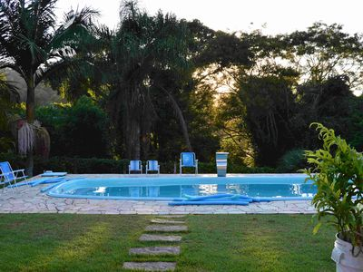 Photo for Privileged view of nature. Leisure integration and barbecue area