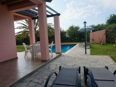 Photo for Rural Villa Set In The Mountains, Private Pool And Stunning Sea Views