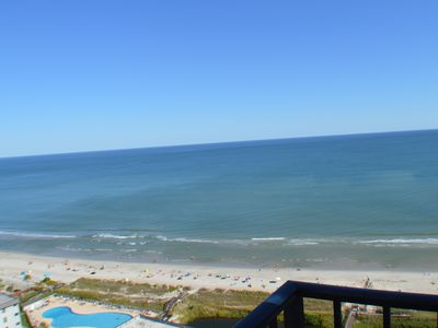 Photo for Ocean Condo - The View !! - Clean - Renovated 2 Bdrm 19th Floor