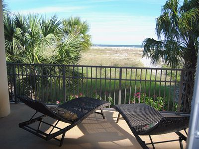 Photo for Beautiful Extra Large Gulf Front end unit at Holiday Isle