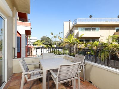Photo for Large Two Bedroom Townhouse Across from Beach
