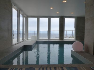 Photo for VILLA SEA VIEW and HEATED INDOOR SWIMMING POOL