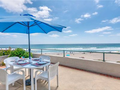 Photo for UNOBSTRUCTED OCEAN FRONT PROPERTY IN THE VILLAGE OF CARLSBAD WITH AC (Monthly Only)