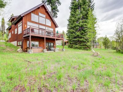 Photo for Spacious mountain home with private hot tub & pool access