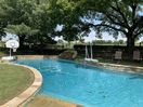 4.5' deep swimming pool  with basketball and volleyball