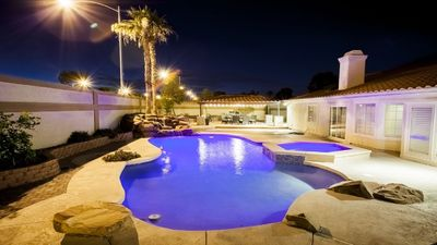 Photo for Modern Grand Villa - 8 Bdrms & 14 Beds Close to the Las Vegas Strip