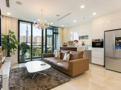 Photo for YUSTAY   Luxury PanoramicRiverView Vinhomes D1