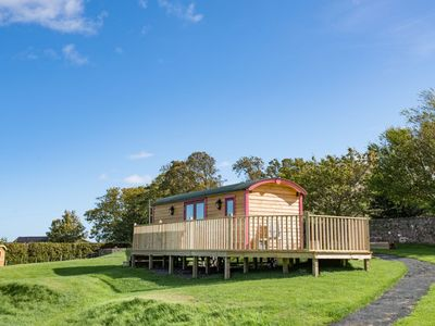 Photo for FOXGLOVE SHEPHERD'S HUT, near Berwick upon Tweed - sleeps 4 with Wi-Fi