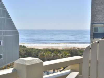 Photo for Newly updated condo, Caswell Beach-front setting near great dining and shopping