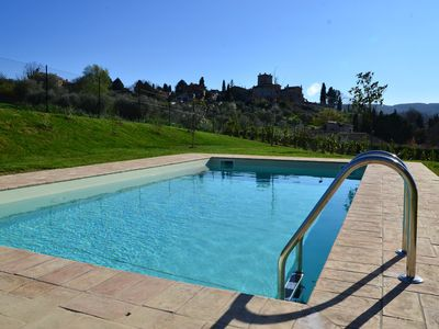 Photo for Detached luxury villa, 6 persons with great views, private pool and WiFi