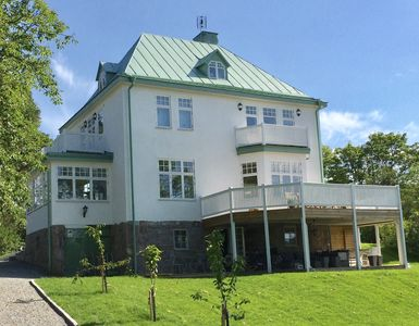 Photo for Spacious house close to Stockholm and the archipelago, with porches and pool