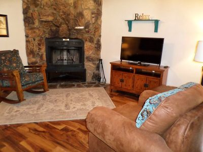 Photo for Valley Condo #117 - Fiber Optic high speed WiFi, Gas Fireplace, Washer/Dryer, Community Hot Tubs,