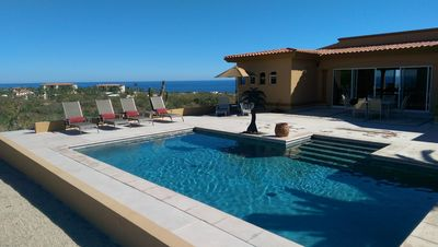 Photo for Best Deal in Cabo, Private Home, Pool, Ocean Views, Beach,  Whales, Boats