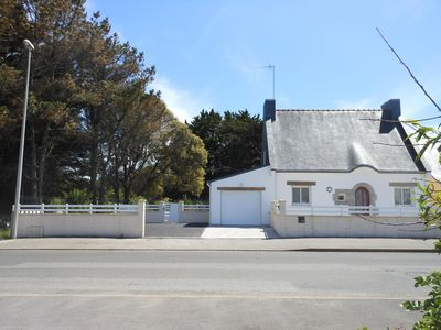 Photo for 100m² house with 480m² enclosed garden 200m from the sea