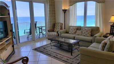 Photo for Spacious Seaside Condo with a Jacuzzi Tub!