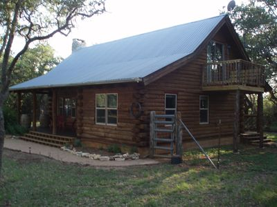 Photo for Relax and Recharge in Wimberley at The Cabin in the Oaks