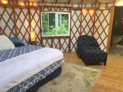 King Size Bed and Forest Views