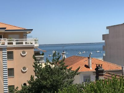 Photo for Apartment in Arcachon - Beautiful views - 40m2 - 6 p - Terrace - Refurbished