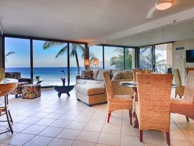 Photo for Maui Resort Rentals: The Mahana 514 - Elegantly Remodeled 5th Floor 1BR w/ Stunning Oceanfront Views